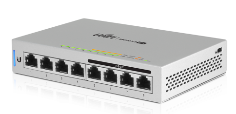 UniFi PoE Switch, 8 Ports, 60W