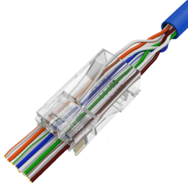 Conn-RJ45-Cat5e-UTP-3U-Pass Through