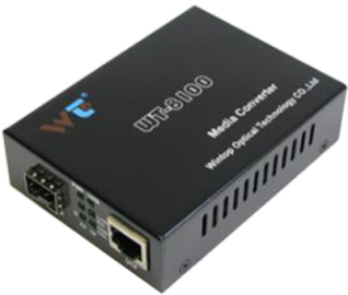 10/100/1000M Ethernet to fiber media converter