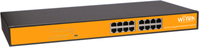 16GE Ports Unmanaged Switch
