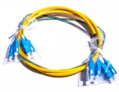 SC/UPC-SC/UPC single mode 4 cores bunch type patchcord