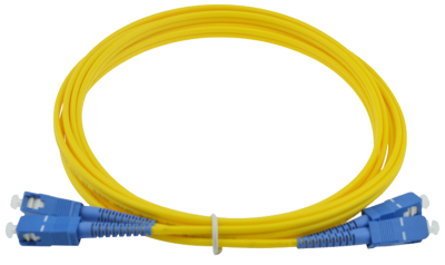 SC/UPC-SC/UPC Single-mode Duplex Patchcord 3mm 1m