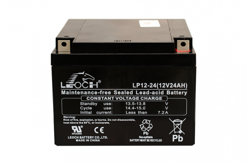 Rechargeable Lead Acid UPS Battery 12V/24AH